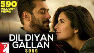 Dil Diyan Gallan – Tiger Zinda Hai Salman Khan, Katrina Kaif