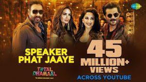 Speaker Phat Jaaye Video Song – Total Dhamaal Movie
