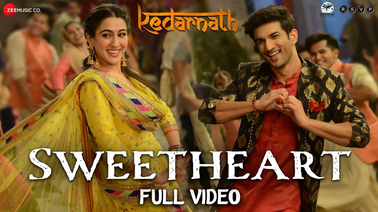 Sweetheart Video Song – Kedarnath Movie