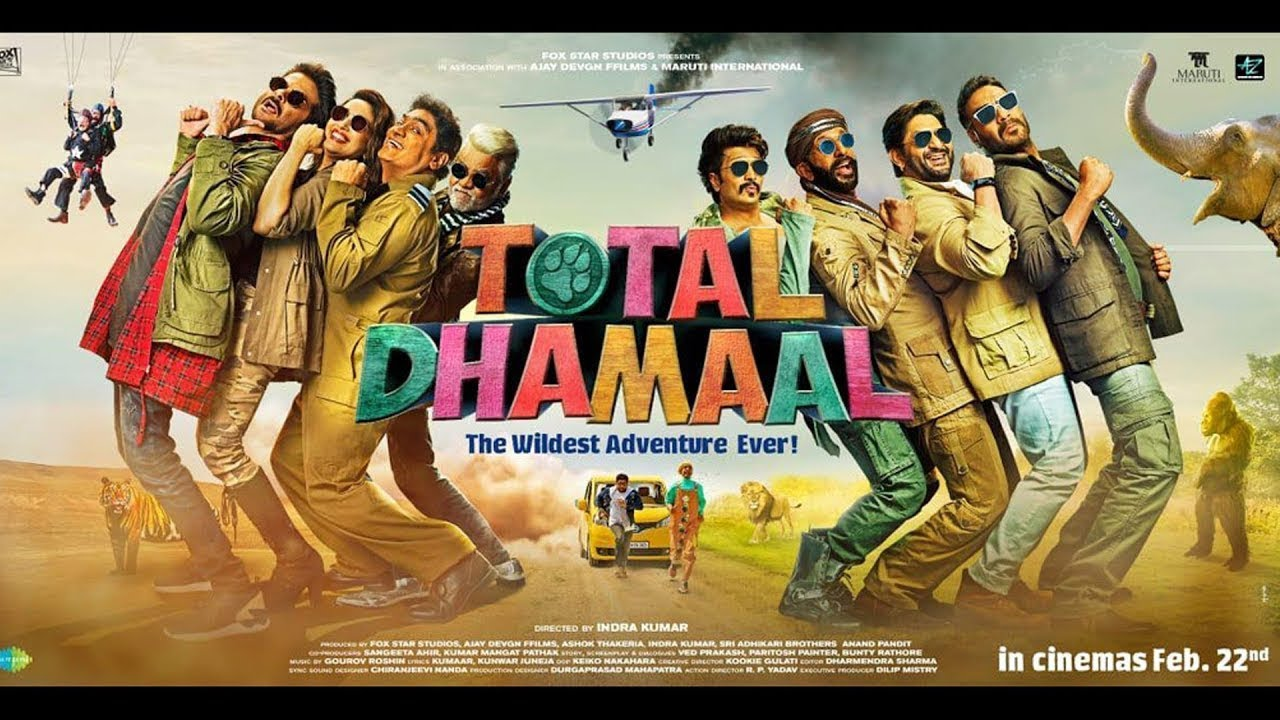 Mungada Song Lyrics – Total Dhamaal Movie