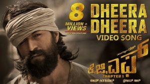 Dheera Dheera Full Video Song – KGF Movie
