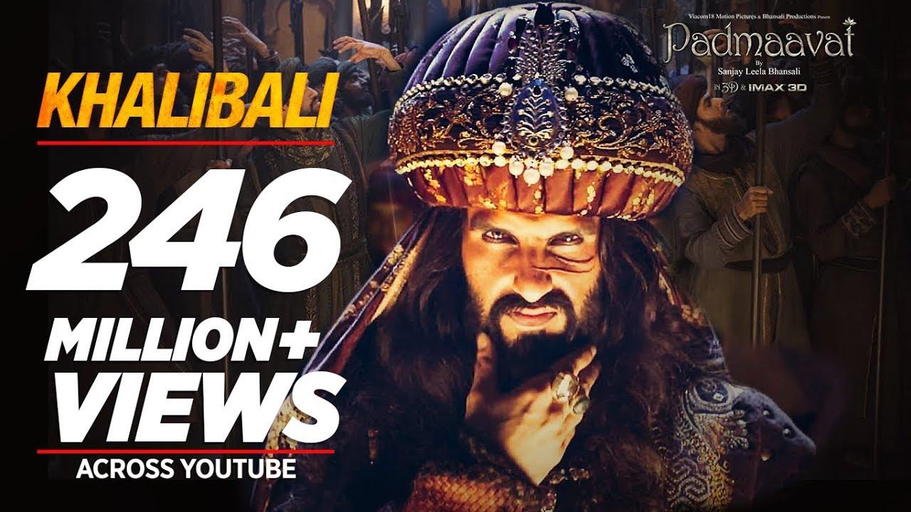 Khalibali Video Song – Padmaavat Movie