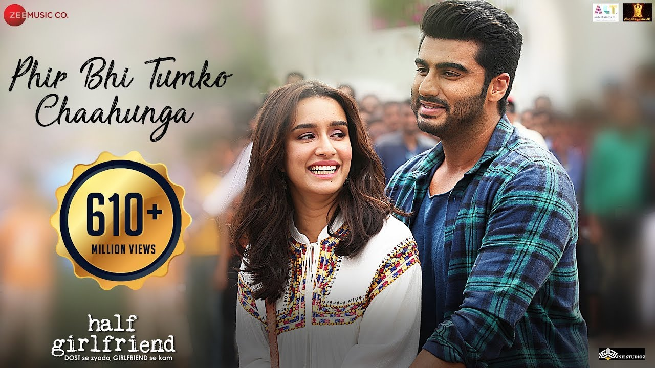 Phir Bhi Tumko Chaahunga Video Song – Half Girlfriend Movie