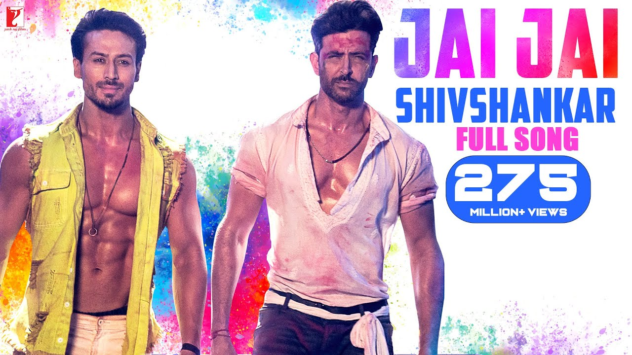 Jai Jai Shivshankar Video Song & Lyrics – War Movie
