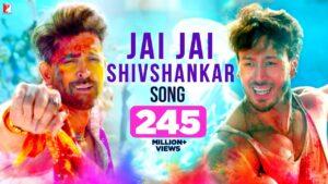 Jai Jai Shivshankar Song Video Song & Lyrics – War Movie