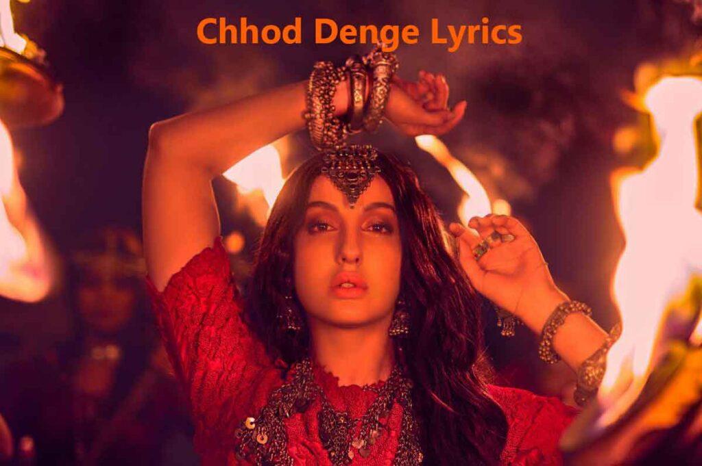 Chhor denge Song lyrics – Chhaor Denge album
