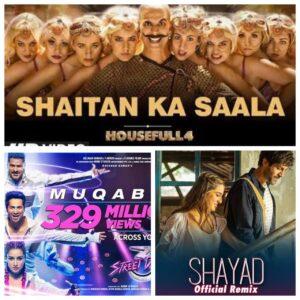 List of Bollywood Best Songs Released in 2020