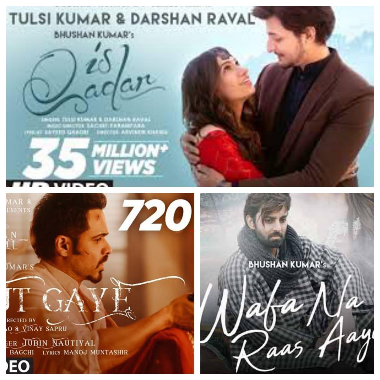 Top 10 Trending Bollywood Songs in 2021